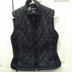 Marmot womens size medium black ski vest